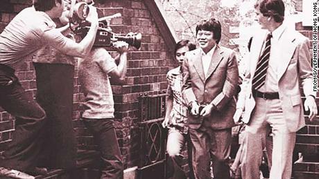 Major drugtrafficker Ma Sik-chun was arrestedby the police in1970s.