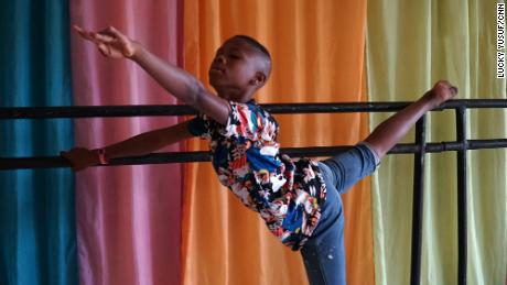How 11-year-old Nigerian boy went from dancing barefoot in the streets to viral ballet star