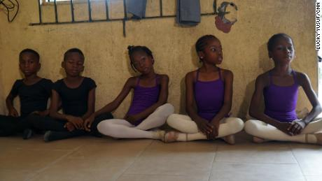 Leap of Dance Academy students practice their dance technicques 6 days a week