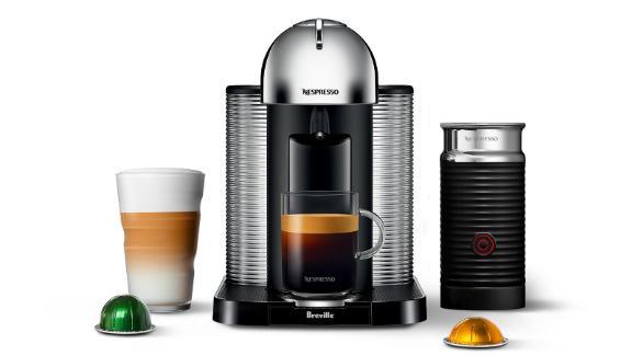 Nespresso Breville VertuoLine Coffee & Espresso Machine With Aeroccino