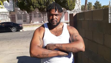 Undated photo of Dijon Kizzee, who was killed by Los Angeles County Sheriff's deputies on August 31, 2020.