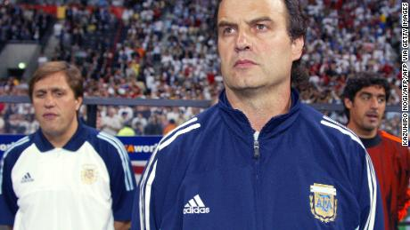 Marcelo Bielsa managed Argentina from 1998 to 2004, winning a gold medal at the 2004 Olympic Games in Athens with the team.