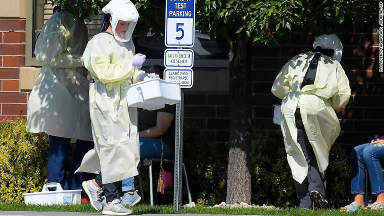 Covid-19 podría matar a 2.900 estadounidenses al día en diciembre