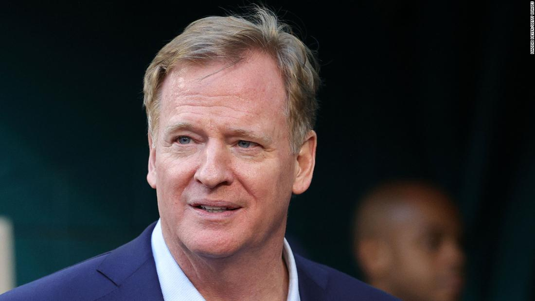 NFL commissioner Roger Goodell remains steadfast on not releasing more from Washington Football Team investigation