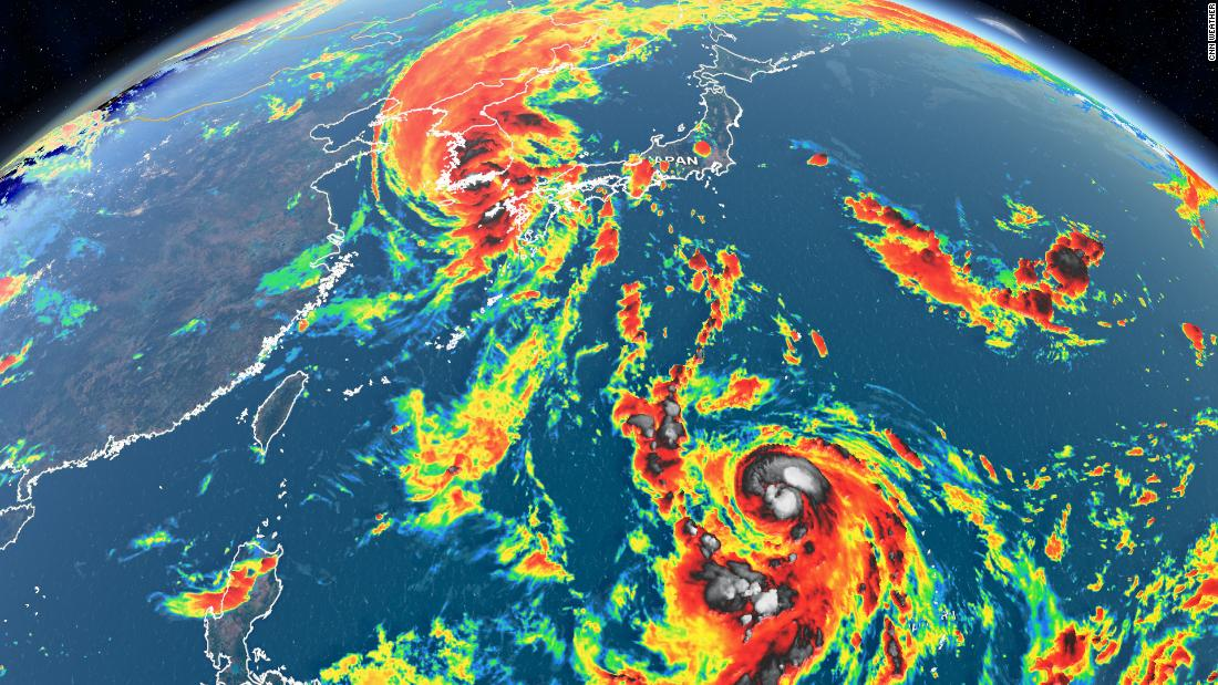 South and North Korea brace for two typhoons within a week – CNN