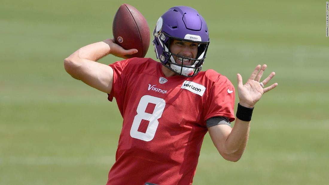 Vikings QB Kirk Cousins embraces Darwinian view on Covid-19, saying 'If I die, I die'