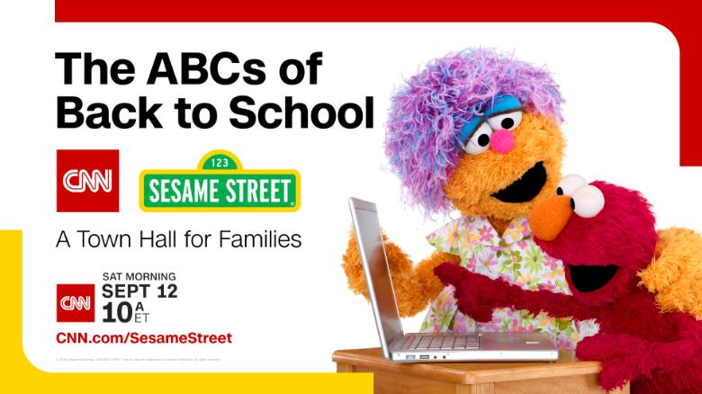 CNN and 'Sesame Street' team up to host a town hall on going back to school