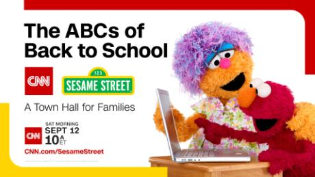 CNN and 'Sesame Street' to host a town hall on going back to school