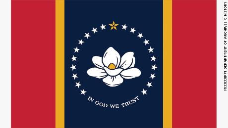 Mississippi to vote in November on the new state flag with magnolia flowers