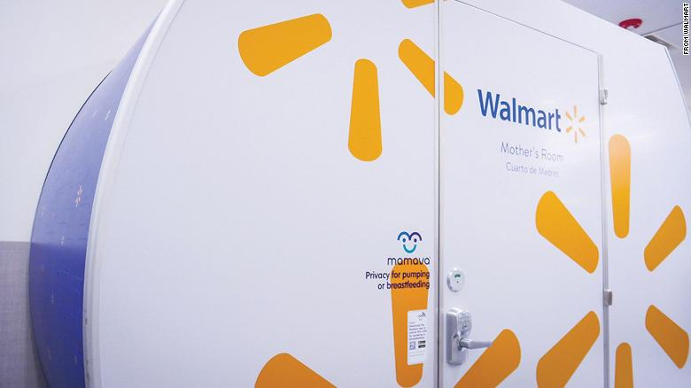Walmart is adding Mamava pods to 100 stores by the end of 2020.