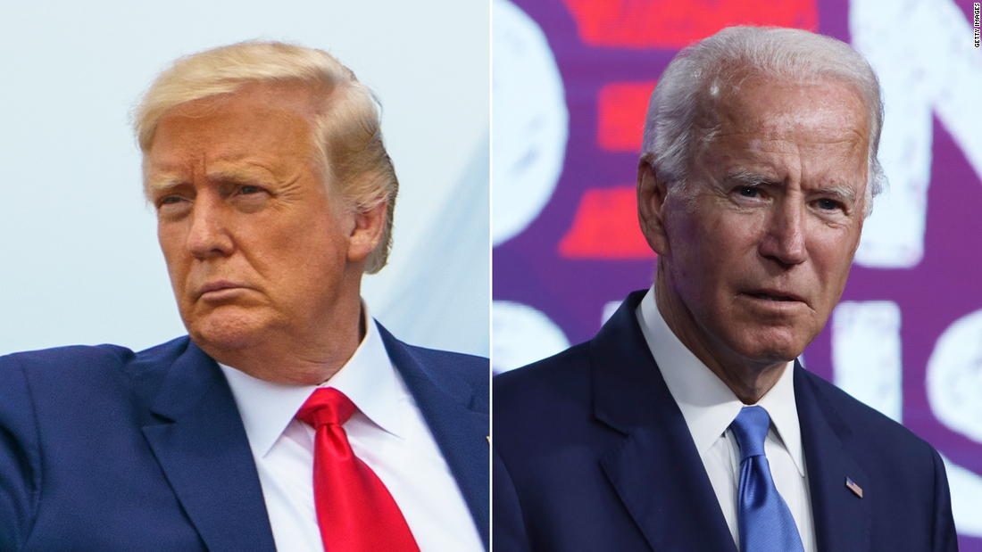Trump gains in latest polling, but Biden's still in control of the presidential race