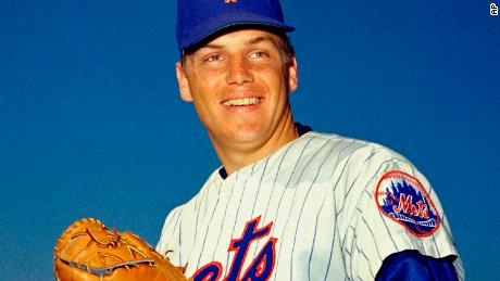 New York Mets pitcher Tom Seaver poses for a photo in March 1968.