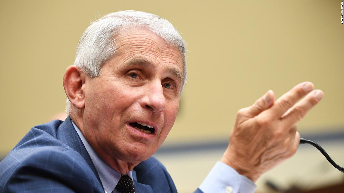 Fauci unsure what Trump means by saying the country is 'rounding the corner on the virus' – CNN