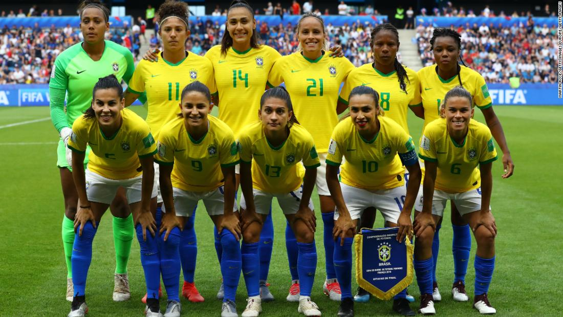 Brazil announces equal pay for men's and women's national players - CNN