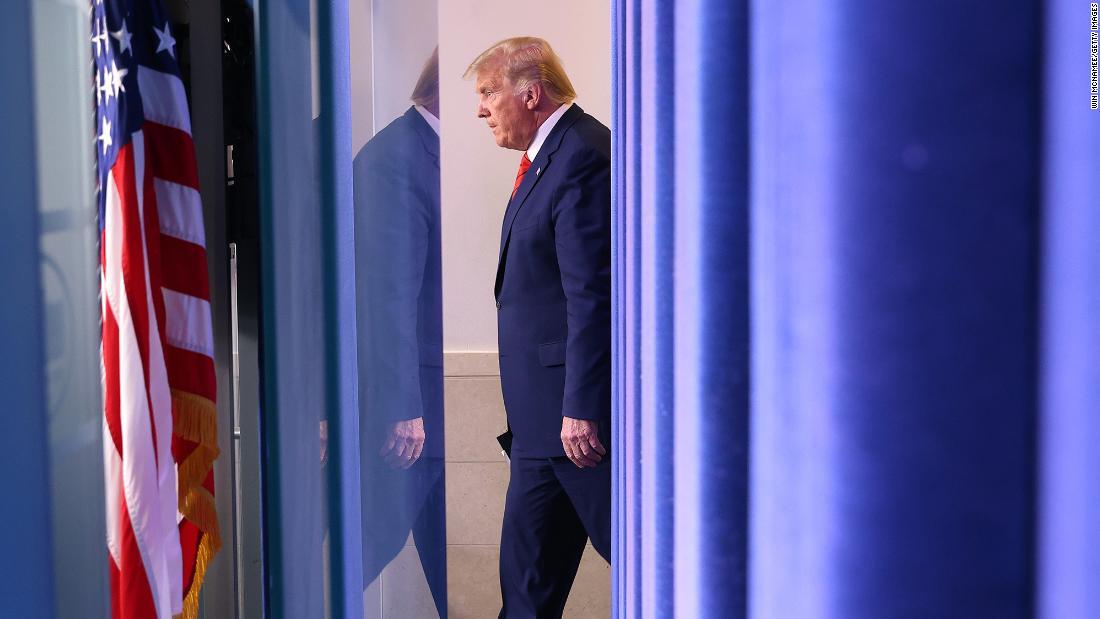 Trump angrily denies report that he denigrated US service members – CNN