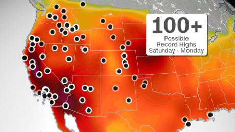 Over 50 million people will be under heat alerts this holiday weekend