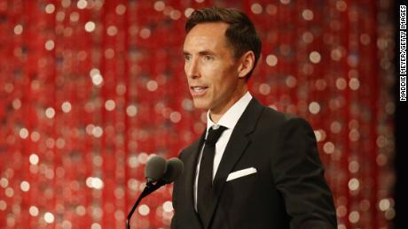 New Brooklyn Nets coach Steve Nash was enshrined in the Naismith Basketball Hall of Fame in 2018.