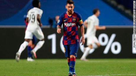 Lionel Messi had told the club he wanted to leave.