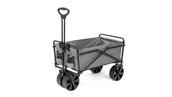 Seina Folding Utility Beach Wagon Outdoor Cart