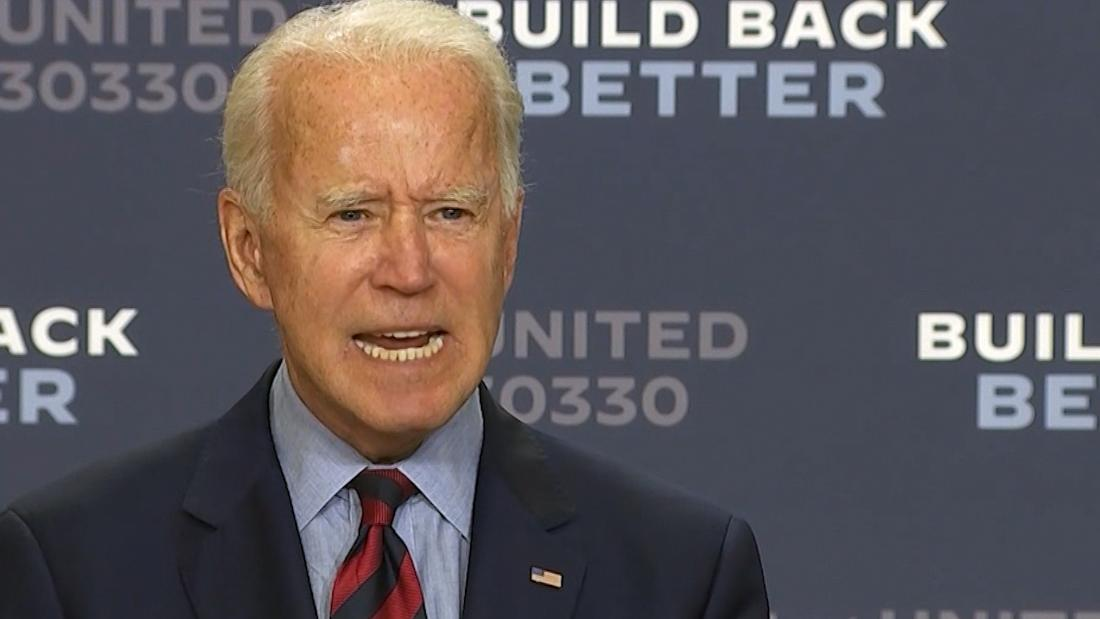 Biden: Trump has 'no sense of service no loyalty to any cause other than himself' – CNN