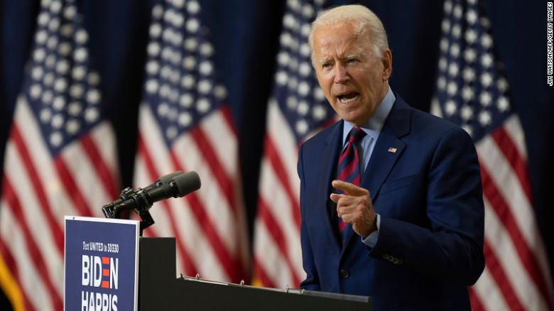 Biden's lead over Trump is the steadiest on record