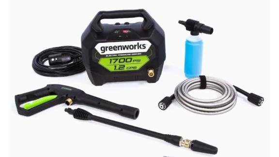 Greenworks Cold Water Electric Pressure Washer