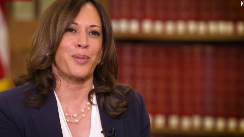 Harris speaks with Jacob Blake during first solo trip as Democratic VP nominee