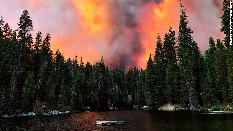The Creek Fire has devoured more than 45,000 acres near Fresno and Madera counties.