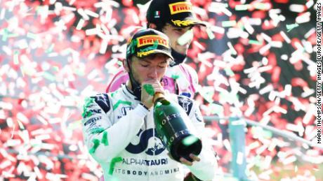 France hadn't fielded a race winner since 1996.