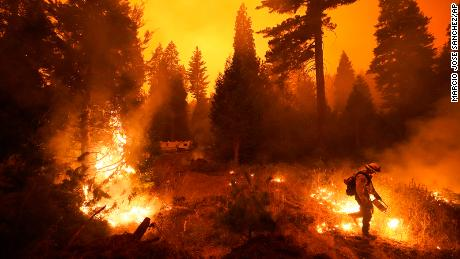 Hundreds had to be rescued from the Creek Fire after a wall of fire captured people.