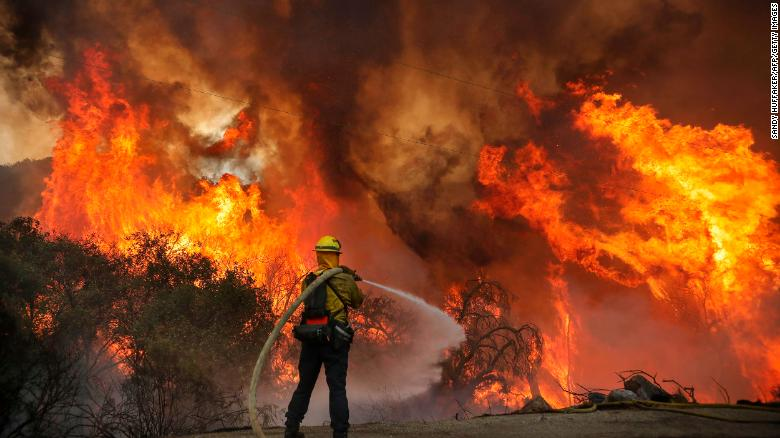California governor declares state of emergency as multiple counties battle wildfires