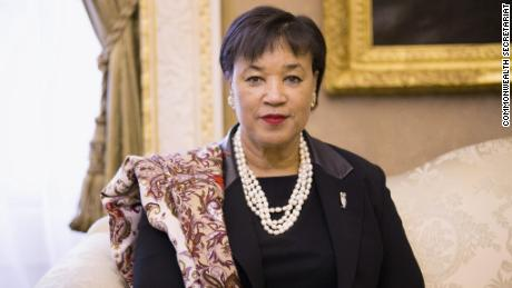 Patricia Scotland, the Secretary-General of the Commonwealth of Nations