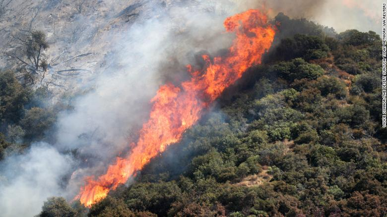 A gender reveal sparked a wildfire in California that's grown to 7,000 acres