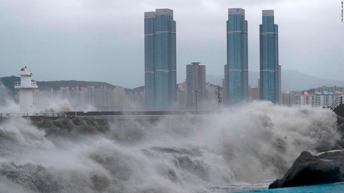 Typhoon Haishen lashes Korean Peninsula after battering Japan – CNN