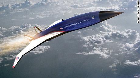 Air Force One che vola a cinque volte la velocità del suono?