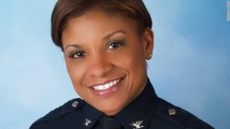 Louisville names Black woman as new interim police chief