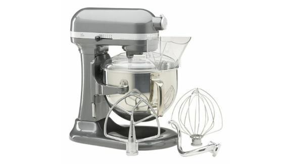KitchenAid 600 Professional Series Stand Mixer, 6-Quart Silver, Seller Refurbished
