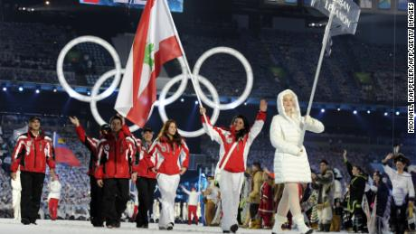 Njeim has competed in both the Winter and Summer Olympics.