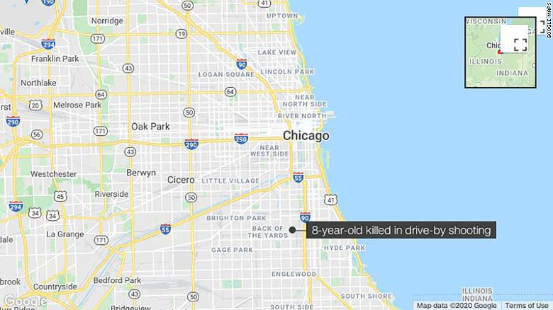 An 8-year-old girl killed in a drive-by shooting was one of 53 people shot in Chicago over holiday weekend