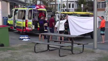 An Australian surfer dies after a shark attack on a popular Gold Coast beach