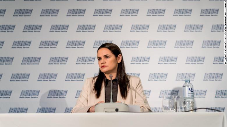 Blinken to meet with Belarus opposition leader in Washington