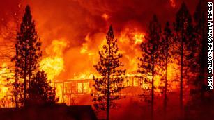 实时更新:加利福尼亚,俄勒冈州和华盛顿的野火肆虐