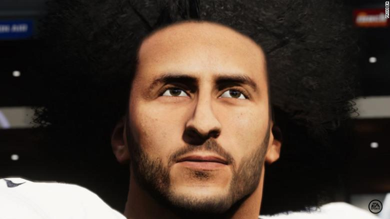 Colin Kaepernick returns to Madden as a playable character for the first time since 2016