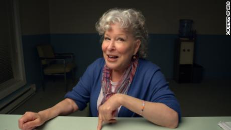 """Bette Midler in """"Coastal Elites."""""""