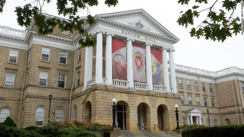 University of Wisconsin-Madison restricts students' movement for the next two weeks as Covid-19 cases rise