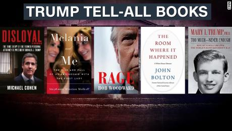 Trump tell-all books have White House on the defensive
