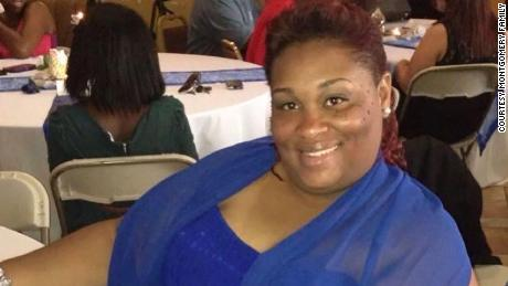 Monica Montgomery, 44, died May 10 after contracting Covid-19. Her family has filed a wrongful death suit against her employer.