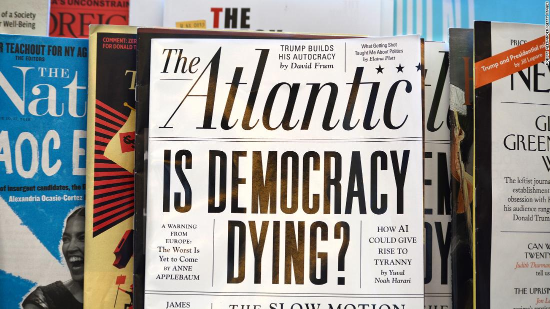 The Atlantic gained 20000 subscribers after Trump dismissed it as a 'dying' magazine – CNN
