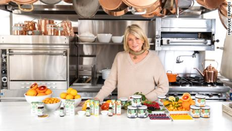 Martha Stewart is launching her first-ever line of CBD products. The hemp-derived soft gels, oils and gummies were inspired by Stewart's kitchen and garden.