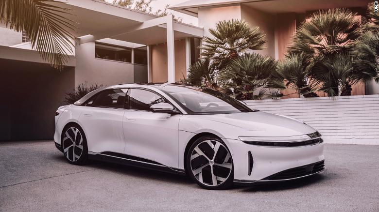 Lucid Motors Unveils Line of Super Powerful Electric Sedans